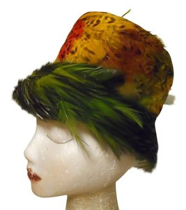 Other Vintage feather hat
