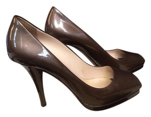 Prada Bronze Pumps