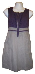 Kimchi Blue short dress Purple/Grey on Tradesy