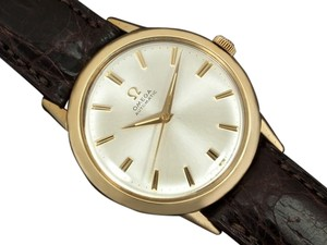 Omega 1969 Omega Vintage Mens Classic Automatic Watch - 10K Gold Filled & Stainless Steel