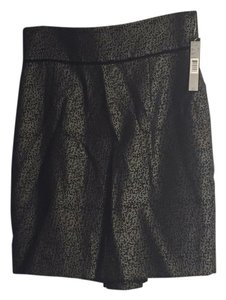 Tahari Skirt Black and grey