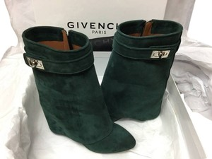 Givenchy Pant Mid Calf FOREST GREEN Boots
