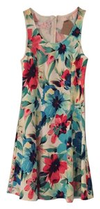 Everly short dress Floral Print on Tradesy
