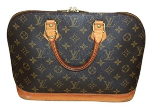 Louis Vuitton Alma Alma Pm Satchel in Monogram Canvas