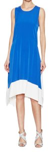 1.STATE short dress Blue and white on Tradesy