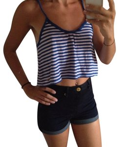 Hollister Top Blue, White