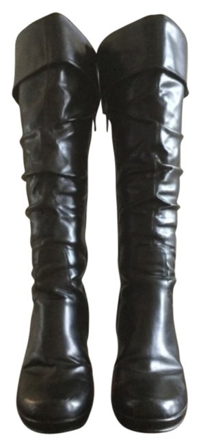Item - Black Smooth Brittany Boots/Booties Size US 8.5 Regular (M, B)