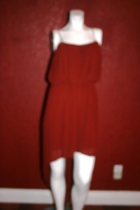 BCBGeneration Red Asymmetrical Dress