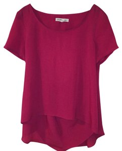 BCBGeneration Top Dark Pink