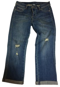 New York & Company Capri/Cropped Denim-Distressed