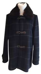 Claudie Pierlot Fur French Euro A-line Coat