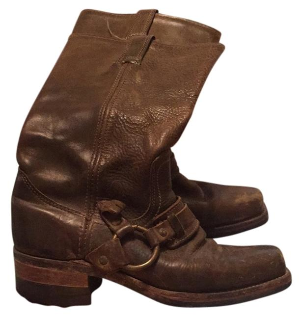 Item - Olive/Brown Boots/Booties Size US 7.5 Regular (M, B)