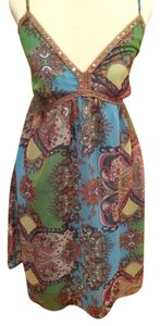 Funky People short dress multicolor on Tradesy