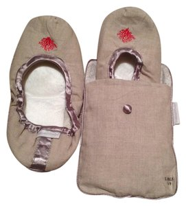 Crabtree & Evelyn Beige Flats