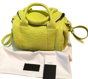 Alexander Wang Satchel in Neon