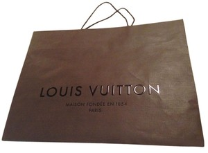 Louis Vuitton Large Shopping Tote in Brown