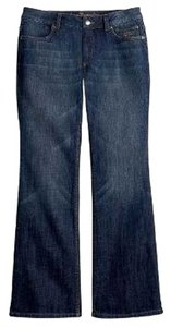 Harley Davidson 5 Pocket Style *boot Leg Opening *cotton/spandex *zip Fly *machine Washable Boot Cut Jeans-Medium Wash