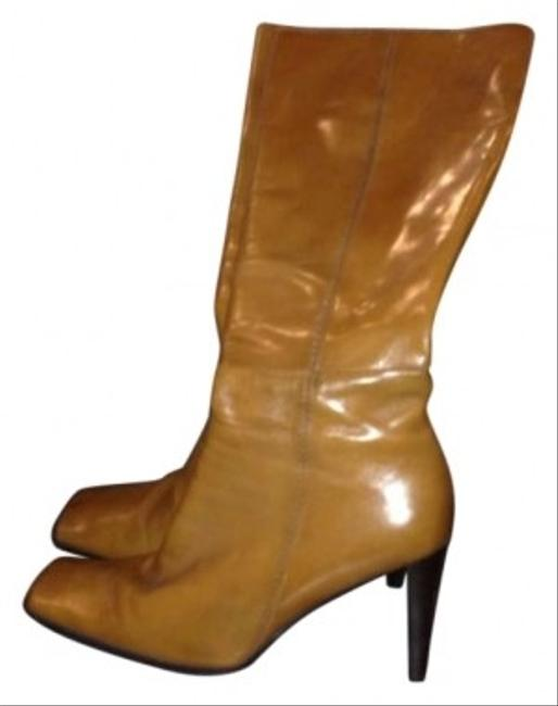 Nine West Camel Nwdanna Leather Boots/Booties Size US 8 Nine West Camel Nwdanna Leather Boots/Booties Size US 8 Image 1