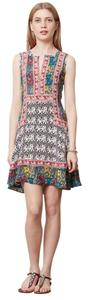 Tolani Anthropologie Elephant Dress Silk Tunic