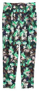 H&M Joggers Relaxed Pants Floral
