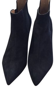 Signature made in Italy Blue suede Boots