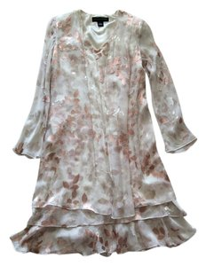 Jones New York short dress Ivory flower on Tradesy