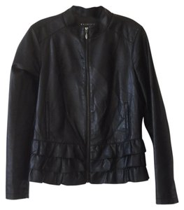Baccini Blac Leather Jacket