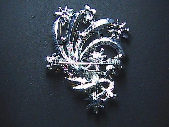 Other Stunning Rhinestone Multi Color Peacock Brooch Image 1