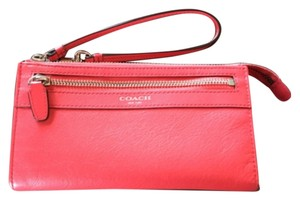 Coach Wristlet in Watermelon