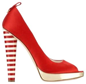 DSquared Red Platforms