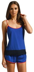 Juicy Couture Cami Sleepwear Top Dark Lapis & Regal & Candy Pop