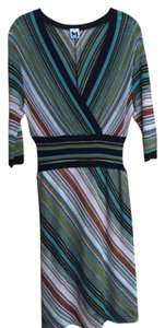Missoni short dress Brown and Green on Tradesy