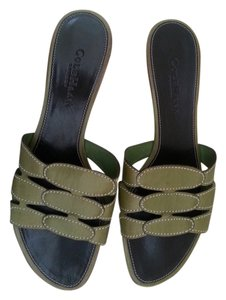 Cole Haan Green Sandals