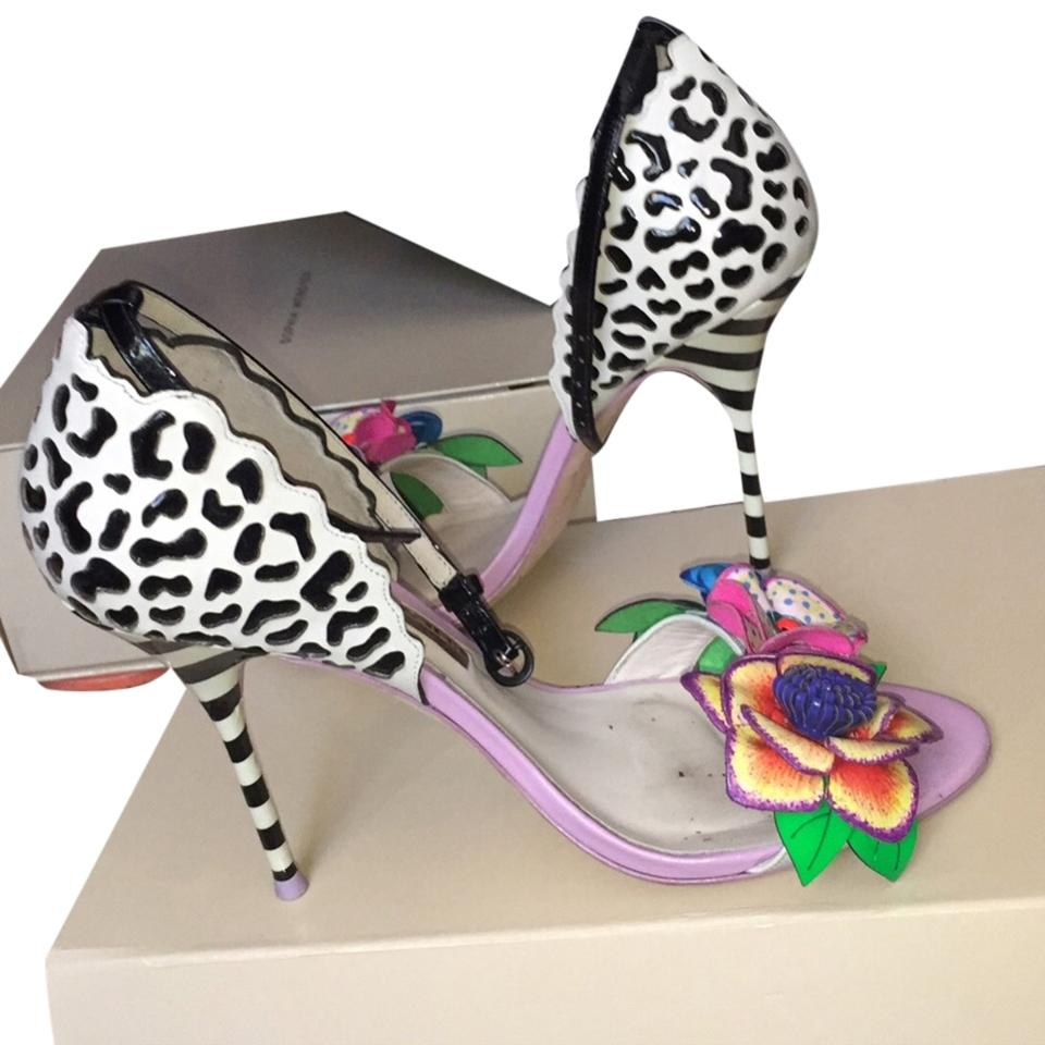 fd40ad32af61 Sophia Webster Multicolor Sold Out Everywhere Lilico Jungle with Ankle  Strap Pumps