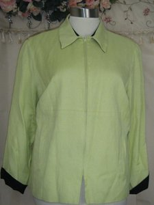 Jessica Howard LIME W BLACK TRIM Jacket