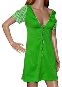 Plenty by Tracy Reese short dress Lime / White on Tradesy
