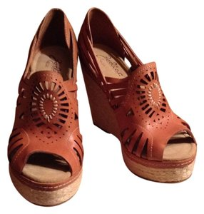 Zodiac Wedge Rope Heel tan Wedges