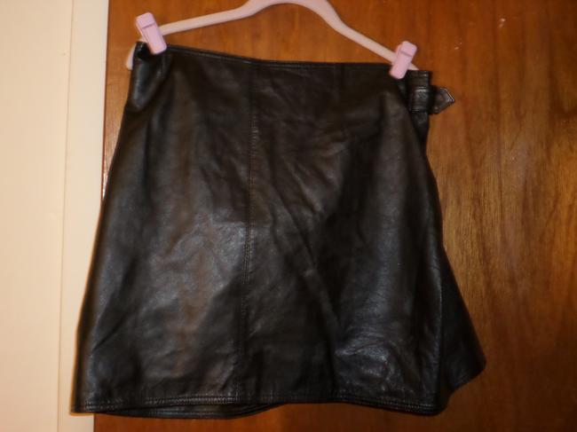 Excelled Mini Skirt Black