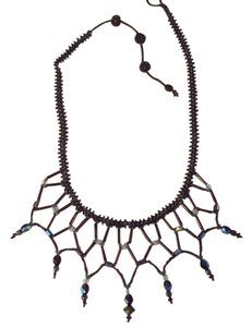 The Museum Company Beaded Bib Necklace