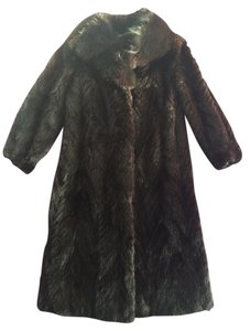 Albert Koufman Mink Fur Fur Full Length Long Long Fur Real Fur Fur Coat