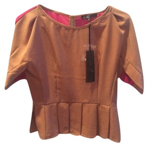 C. Luce Top Tan/magenta