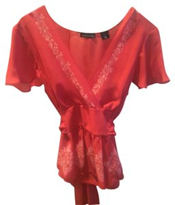 Moda International Top Pink