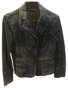 INC International Concepts Denim Blazer