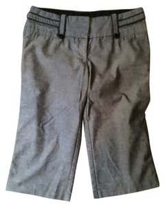 Charlotte Russe Capris Gray