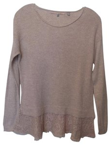 Anthropologie Knotted Cashmere Sweater