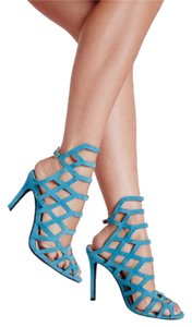 Missguided Teal Pumps