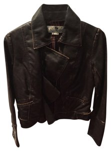 Jolt Brown Leather Jacket