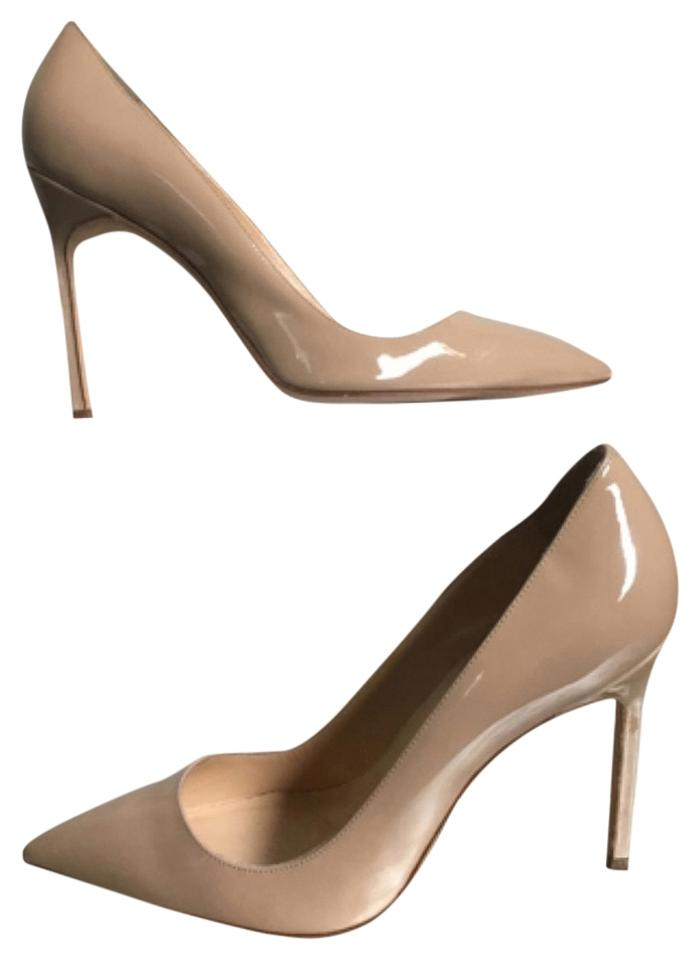 WOMENS Manolo Blahnik Nude Pumps the a good reputation in the Pumps world c1742a