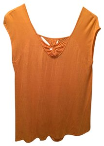 New Directions Top orange
