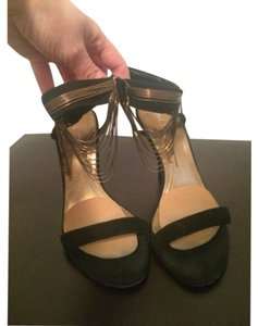 ALDO Black suede Platforms